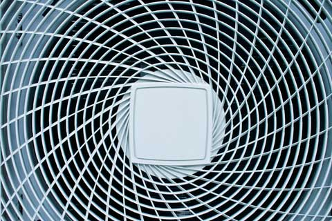 Air conditioners hire fan